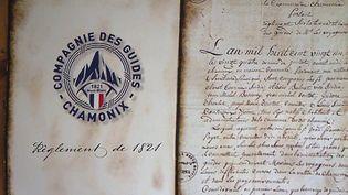 La Compagnie des guides de Chamonix (Haute-Savoie) fête ses 200 ans cette année. (CAPTURE ECRAN FRANCE 3)