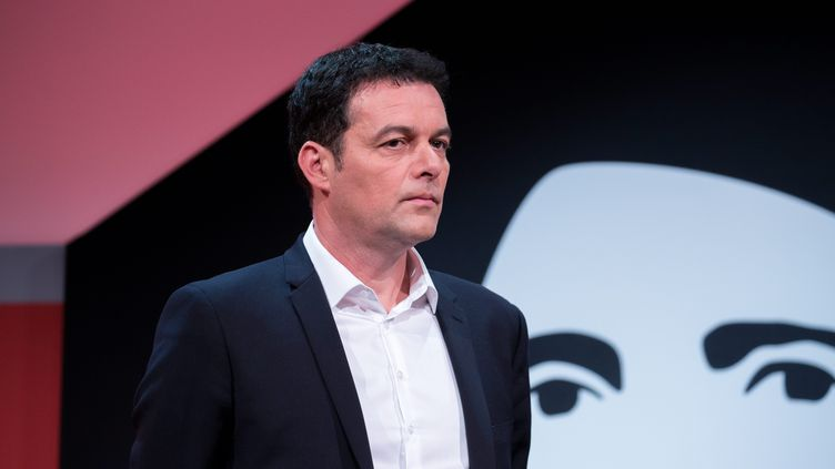 Christophe Robert, le directeur général de la Fondation Abbé Pierre, à Paris, en janvier 2017. (CHRISTOPHE MORIN / MAXPPP)