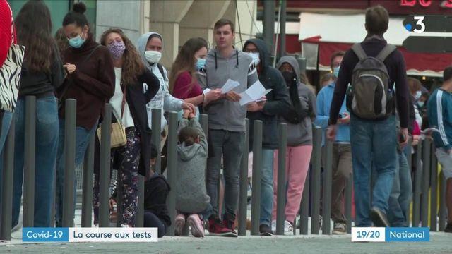Coronavirus : c'est la course aux tests