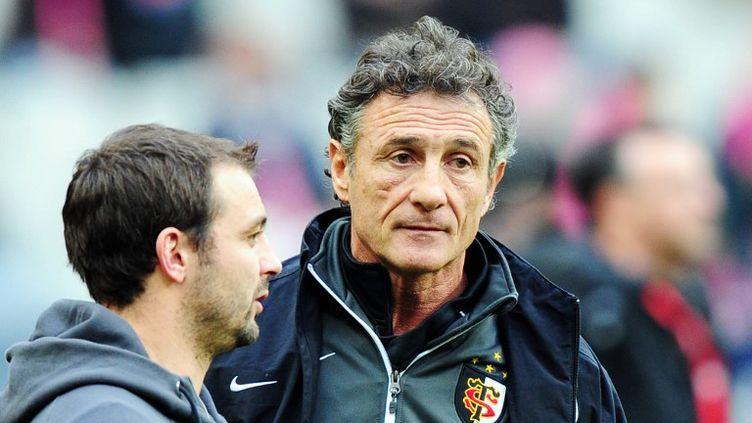 Jean-Baptiste Elissalde et Guy Novès (FRANCK FIFE / AFP)