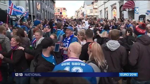 Euro 2016 : les Islandais fiers de leurs joueurs