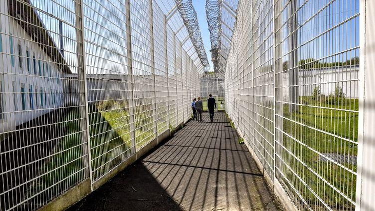 Le célèbre braqueur a été ncarcéré dans la prison de Vendin-le-Vieil (Pas-de-Calais), ouverte en 2015 et l'une des plus sécurisées de France. (PHILIPPE HUGUEN / AFP)