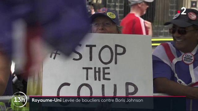 Brexit : levée de boucliers contre Boris Johnson