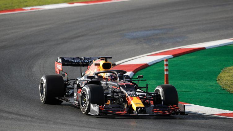 Le Néerlandais max Verstappen (Red Bull) sur le circuit d'Istanbul (ANTONIN VINCENT / DPPI MEDIA)
