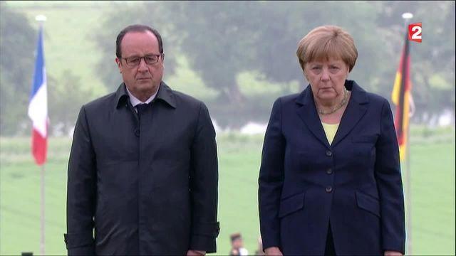L'hommage franco-allemand pour le centenaire de la bataille de Verdun