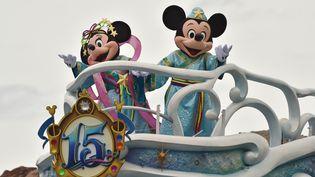 Parade Disney à Tokyo au Japon en juin 2016. (KAZUHIRO NOGI / AFP)