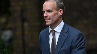 Dominic Raab,ministre britannique de la Justice, à Londres, le 15 septembre 2021. (DANIEL LEAL-OLIVAS / AFP)