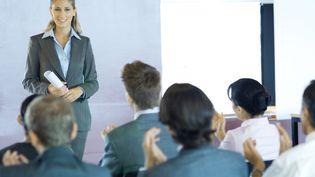 Photo d'illustration de femme cadre d'entreprise. (ERIC AUDRAS / ALTOPRESS)