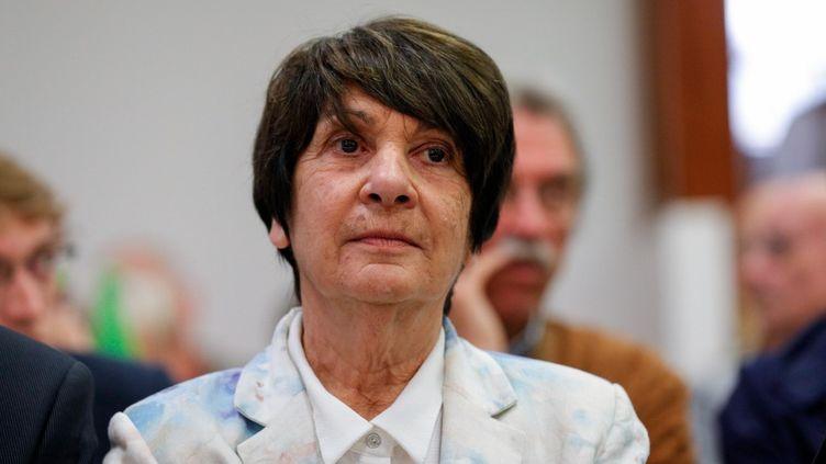 Paulette Deschamps, le 13 septembre 2019. (GEOFFROY VAN DER HASSELT / AFP)