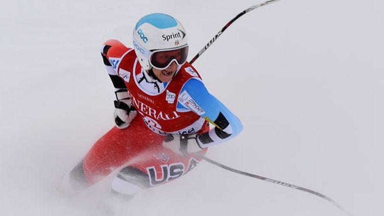 L'Américaine Lindsey Vonn (MARK RALSTON / AFP)