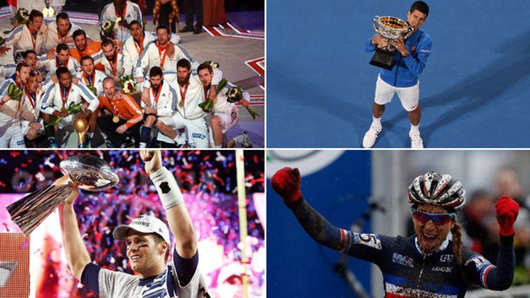 Les handballeurs français, Novak Djokovic, Tom Brady et Pauline Ferrand-Prévot ont brillé ce week-end
