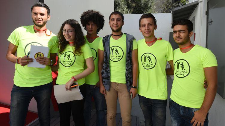 Shams est une association qui milite pour la dépénalisation de l'homosexualité en Tunisie. (FETHI BELAID / AFP)
