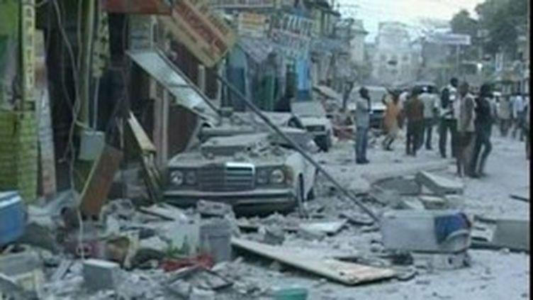 La catastrophe survenue à Haïti (12/01/2010)
