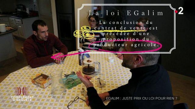 Complément d'enquête. EGalim : juste prix ou loi pour rien ?