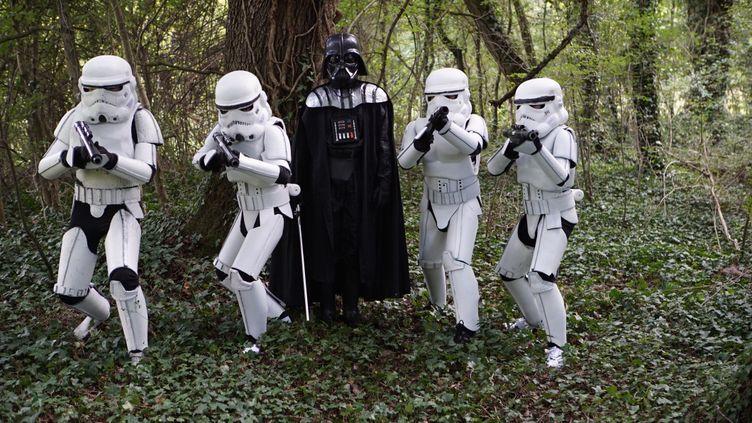 """Le casting junior de """"Star Wars 6.1, l'oublié de la Force"""". (SMA Productions)"""