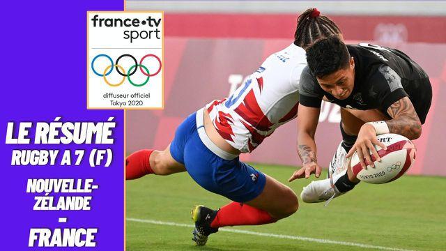 La France n'est pas arrivée à venir à bout des Néo-Zélandaises en finale du rugby à 7 (26-12).Les Bleues décrochent tout de même la médaille d'argent ! La rencontre est à revivre dans le résumé de la finale !