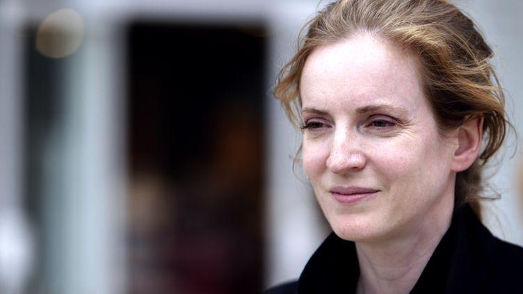 L'ancienne ministre NathalieKosciusko-Morizet lors de la campagne pour les élections législatives,le 15 juin 2012 à Villebon-sur-Yvette (Essonne). (KENZO TRIBOUILLARD / AFP)