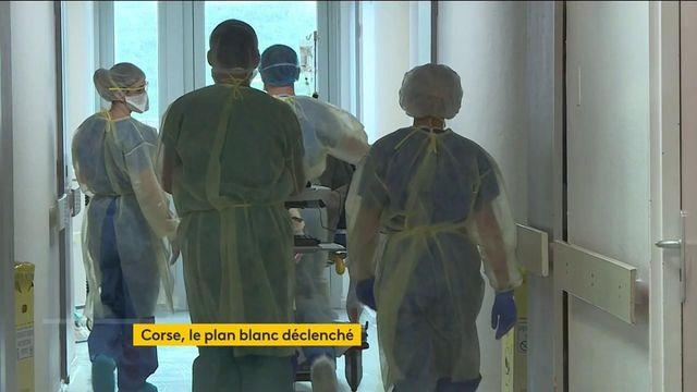 Covid-19 : face à la flambée des cas, la Corse déclenche le plan blanc dans ses hôpitaux