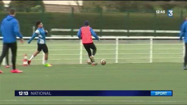 Coupe de France : le petit club d'Avranches se prépare à recevoir le PSG