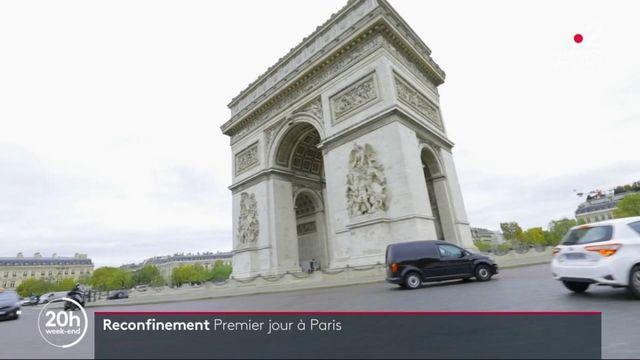 Reconfinement : une atmosphère sensiblement différente à Paris