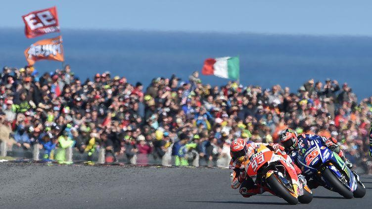 Marc Marquez (Honda) fonce vers le titre MotoGP (PAUL CROCK / AFP)