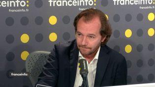 Emmanuel Marsigny, l'avocat de Tariq Ramadan, le 6 juin 2018. (RADIO FRANCE / FRANCEINFO)