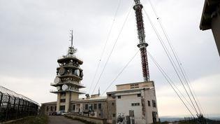Le site émetteur TDF de Marseille Grande Etoile, situé sur le massif de l'Etoile. (ROSSI DAVID / MAXPPP)