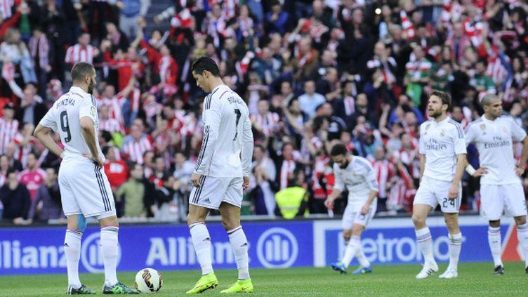 A Bilbao, Cristiano Ronaldo et Karim Benzema sont restés muets.