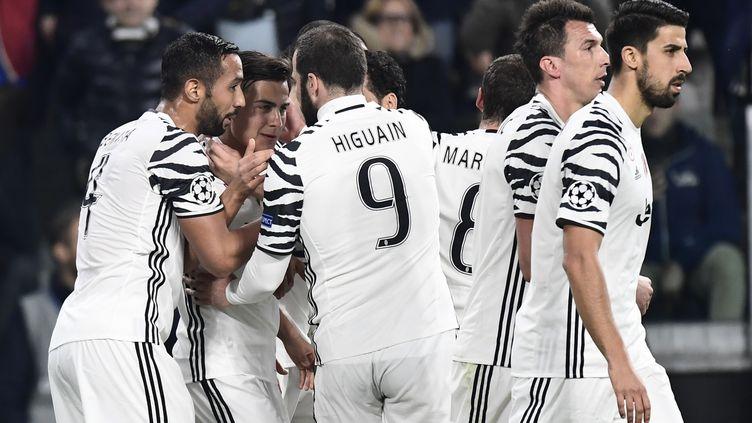 La joie des Turinois (MIGUEL MEDINA / AFP)