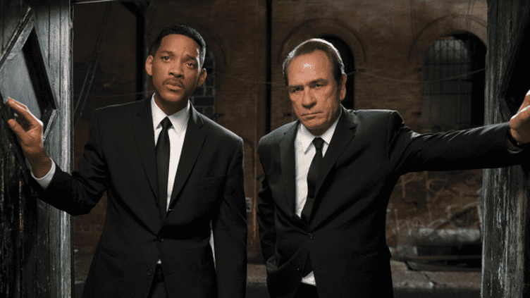 "Will Smith et Tommy Lee Jones dans ""Men in black III""  (KOBAL / THE PICTURE DESK)"