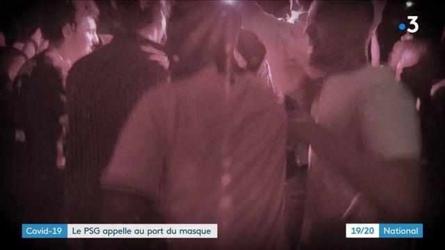 Coronavirus : le PSG appelle leurs fans à porter le masque