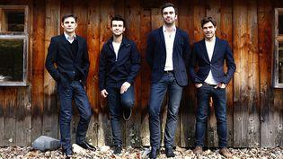 Le Quatuor Modigliani.  (Marie Staggat. )