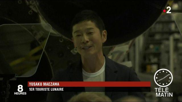 Espace : un milliardaire japonais sera le premier touriste lunaire