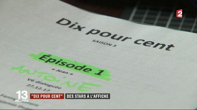 """""""Dix pour cent"""" : des stars à l'affiche"""