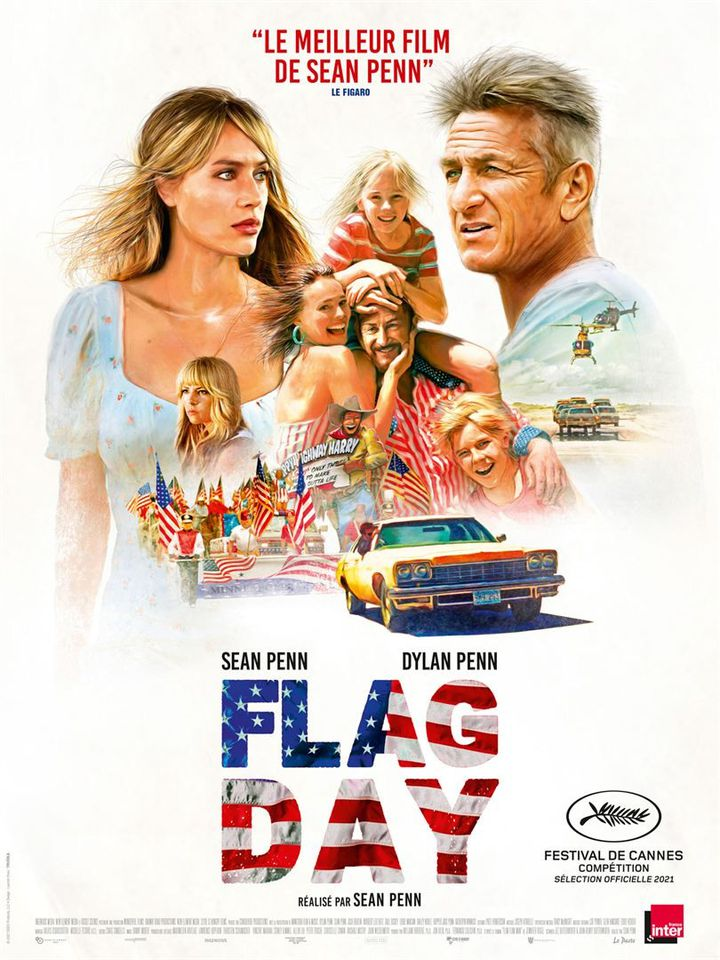 """Poster of """"Flag Day"""" by Sean Penn (2021).  (THE PACT)"""