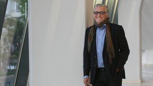 Gilbert Rozon, producteur québécois, à Cannes (Alpes-Maritimes), le 1er juin 2013. (MAXPPP)
