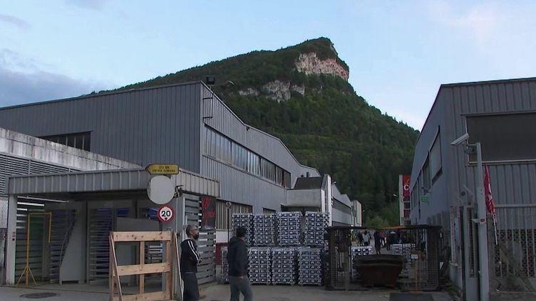 Jura : la ville de Saint-Claude sous le choc face à la liquidation judiciaire de la fonderie MBF Aluminium (France 2)