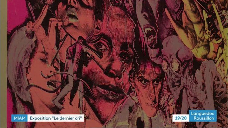 L'une des créations de l'expositionMondoDernier cri à Sète (France 3 Languedoc-Roussillon J. Escafre / J. Morch / Dernier cri / MIAM Sète)