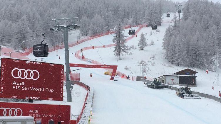 La coupe du monde de ski alpin a fait étape à Val d'Isère en Savoie le 12 et 13 décembre. (NICOLAS PERONNET / FRANCE-BLEU PAYS DE SAVOIE)