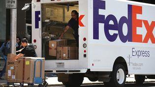 L'entreprise FedExva livrer des vaccins (JUSTIN SULLIVAN / GETTY IMAGES NORTH AMERICA / AFP)