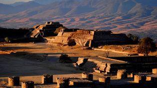 Un temple de la cité pré-hispanique de Teotihuacan  (ESPECIAL-INAH / NOTIMEX )