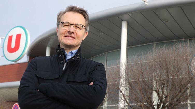 Dominique Schelcher, président de Système U. (JEAN-FRAN?OIS FREY / MAXPPP)