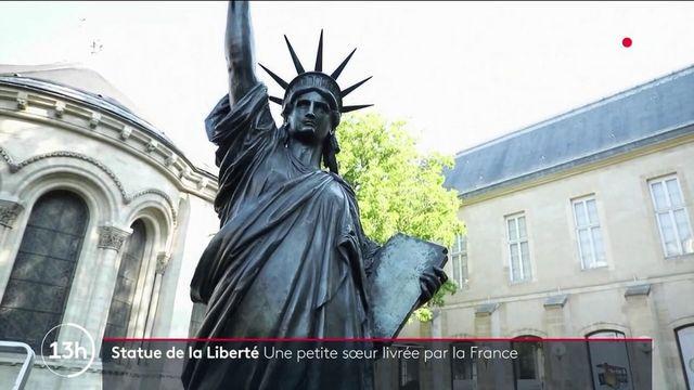 Statue de la Liberté : sa petite sœur s'envole vers les États-Unis