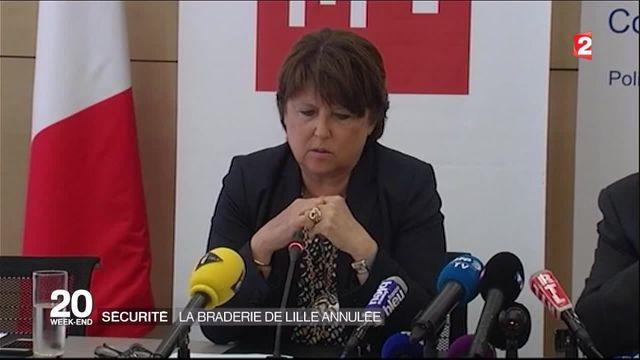 Lille : la braderie annulée pour des raisons de sécurité