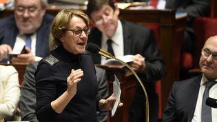 Marylise Lebranchu, la ministre de la Fonction publique, à l'Assemblée nationale, à Paris, le 20 janvier 2016. (ERIC FEFERBERG / AFP)