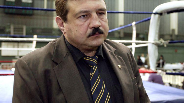 Dominique Nato, le président de la Fédération française de boxe a réagi au rapport McLaren, le 4 octobre 2021. (AURELIEN LAUDY / MAXPPP)