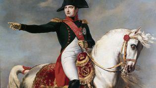 """""""Portrait de Napoléon Bonaparte lors d'une bataille"""" par Joseph Chabord (1786-1848) - Musée napoléonien de Rome. (LEEMAGE VIA AFP)"""