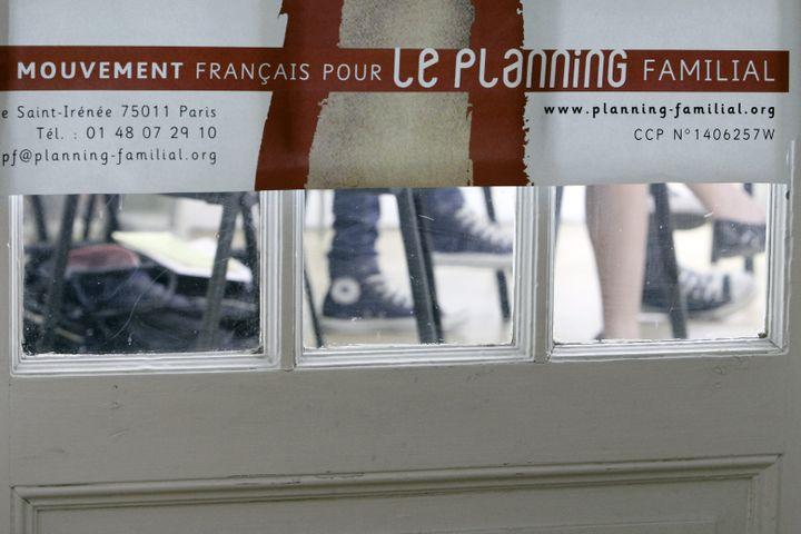 Une salle du Planning familial àStrasbourg (Bas-Rhin), le 11 avril 2011. (MAXPPP)