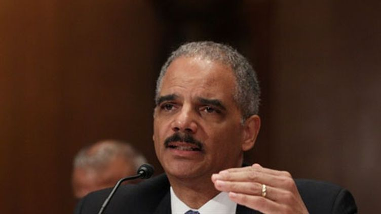Eric Holder, le ministre de la Justice américain. (AFP - Mark Wilson)