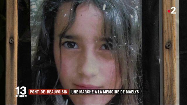 Isère : une marche à la mémoire de Maëlys